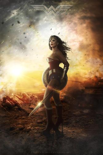 Wonder Woman #2 Model Molly Edwards