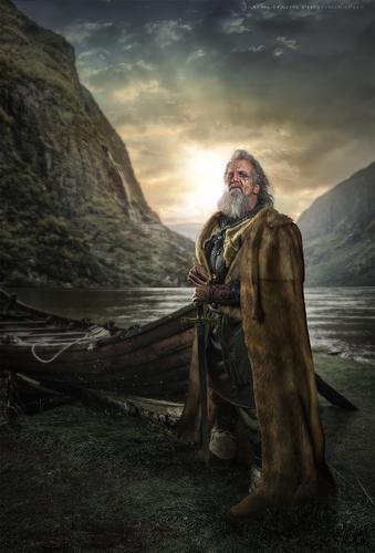Viking #1 Model Paul Seroka