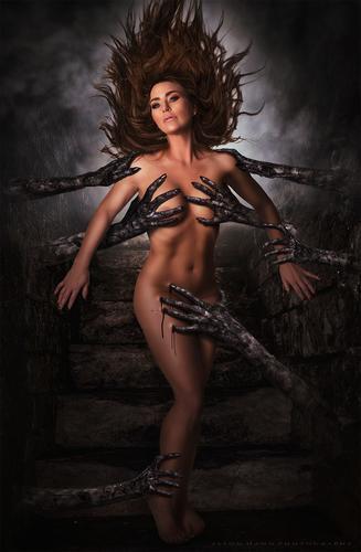 The Offering. Model Rebecca Hahn