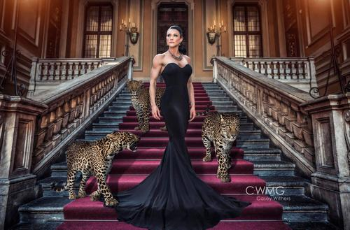 """""""VERSACE, VERSACE"""" Athlete: Heather Cantu  Photographer: Casey Withers of C Withers Media Group  Digital Artist: Jason Hahn Assistant: Tony Simons"""