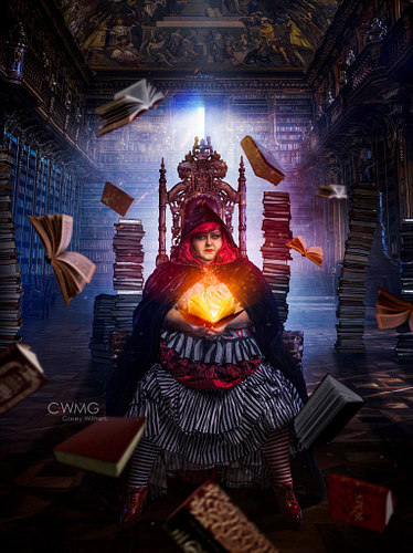 The Librarian. Model image by Casey Withers.