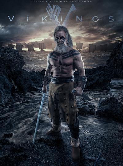 Vikings. Model- Paul Seroka,