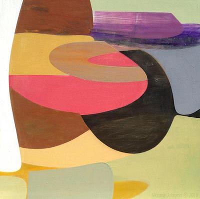 """Terrain Conceptual""   Harmonia Wall Art Prints, Fine Art in Modern Form, copyright Victoria Johnson - Artist"