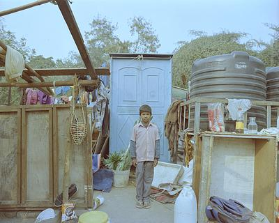 """""""bade ho ke police banna hai- ziski ladai hogi usko pakad ke jail mei daal doonga"""" (I want to become a police officer when i grow up and whoever has fights I will put them in Jail.Kunal, 7 in class 3, goes to Public School (NP Sr Sec School, Aliganj) til"""