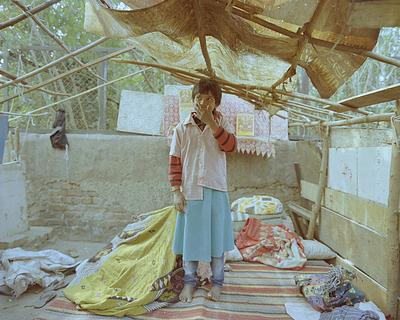 """""""Bade ho ke mujhe doctor banna hai aur mareezo ko dawai deni hai"""" (I want to become a doctor when I grow up and give medicine to the patients)Sonali, 9 in class 4, goes to Public School (NP Sr Sec School, Aliganj) till January 30, 2019, until her dwellin"""
