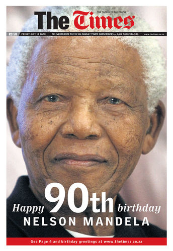 Nelson Mandela turns 90