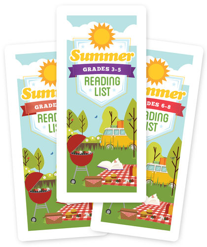 Summer Reading List Brochure for the American Library Association