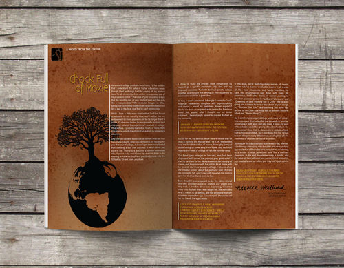 Editorial Design for Alive Magazine