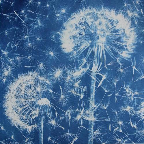 Blue Poems - Les Poésies Bleues