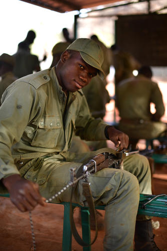 Portraits of Mali Army Cadets