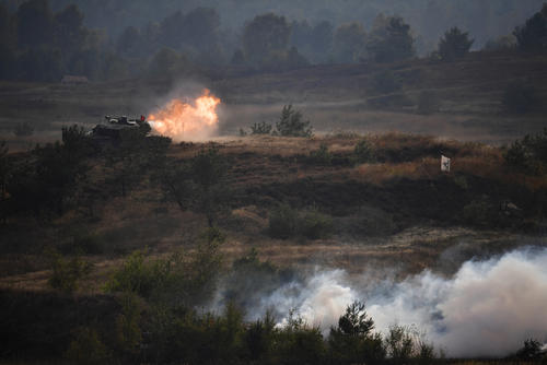Germany And Holland Hold Military Exercises