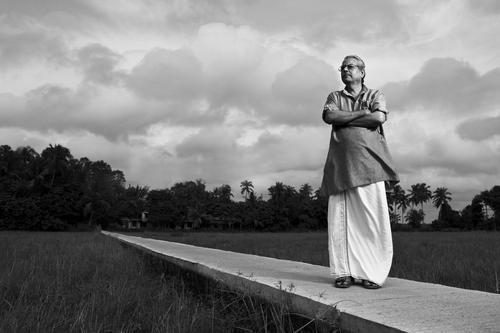 Portrait fo C. Radhakrishnan