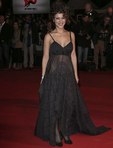 Sonia Lacen, french singer. NRJ Music awards