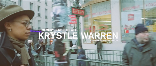 IF MEMORY SERVES ME WELL//A MUSIFILM FOR KRYSTLE WARRENMEMORY SERVES ME WELL//A MUSIFILM FOR KRYSTLE WARREN