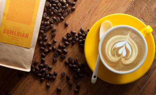 Sumerian coffee cappicino