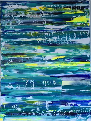 Shine Your Joy (40x30x1.5 inches) Acrylic on Canvas 2015