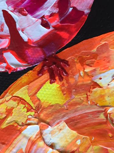 Where There is Love - Diversity is Celebrated - Close up of Red/Orange