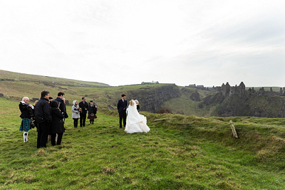 Jake & Jenna Elopement | Dunluce Castle