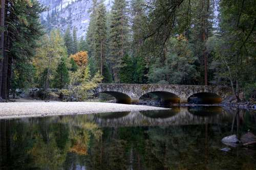 Bridge in Yosemite