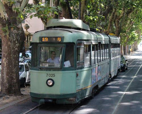 Transit in Rome, Italy