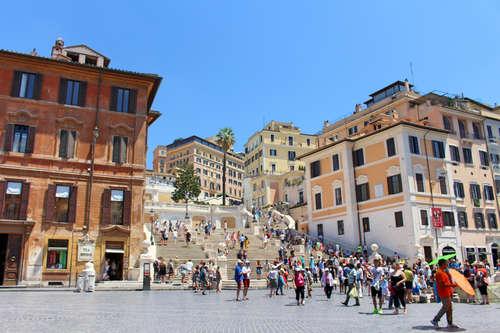 Spanish Steps - Rome, Italy
