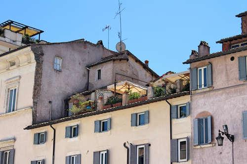 Roof top getaway