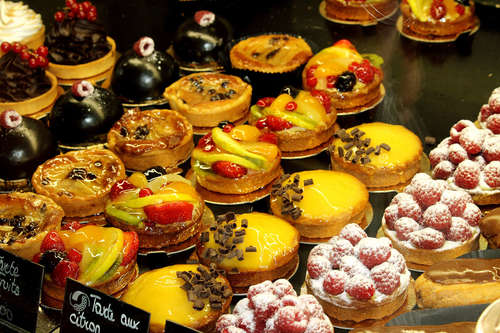 Pastries in Nice, France