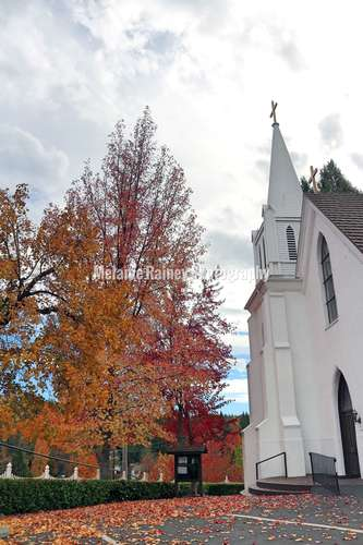 Old church in Nevada City, California