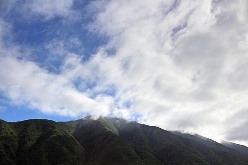 Beautiful mountains in Baja