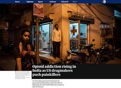 Opioid addiction rising in India, as US drugmakers push painkillers