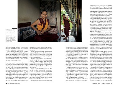 Dalai Lama and Tibetan community in exile