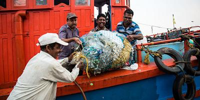India experiments with turning ocean plastic into roads
