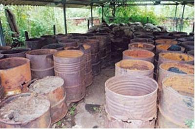 Bhopal's forgotten chemical stockpiles