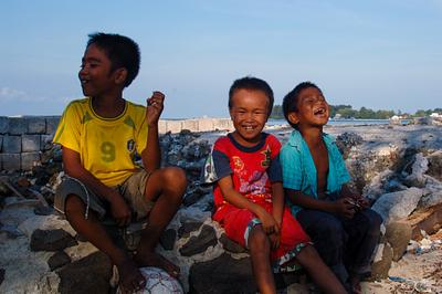 Children of the Thousand Islands, Indonesia.