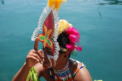 Peacetime in Papua, Indonesia.
