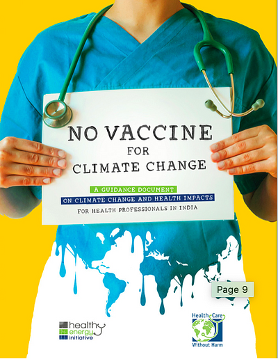 No Vaccine for Climate Change