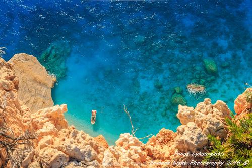 NAVAGIO - SHIPWRECK BEACH IN ZANTE ZAKYNTHOS GREECE SAVE