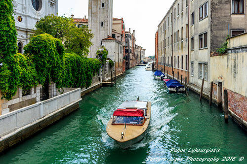 Photos of Venice , Italy .