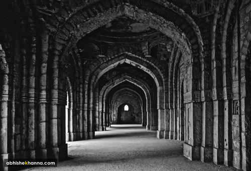 Delhi in Black and White