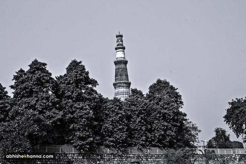 Qutub Minar from the other side
