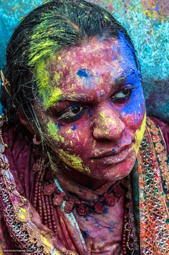 Faces of Holi, Nandgaon