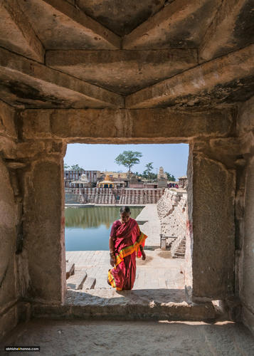 The door to Hampi