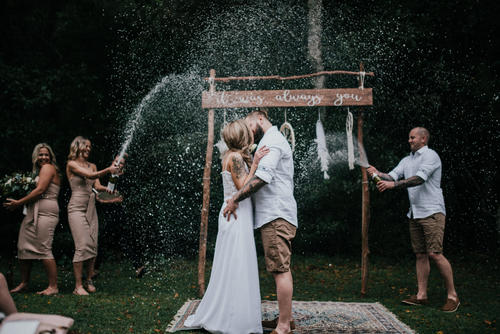 Jessi + Andrew - Illawarra Woolshed Wedding