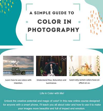 Smarter Phone Photography - A Simple Guide to Color