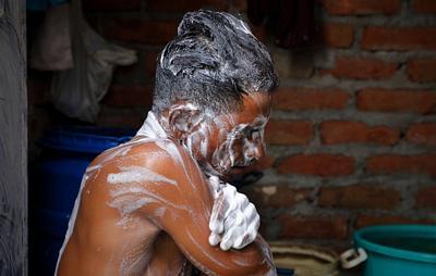 HEALTH-CORONAVIRUS/INDIA-MEDICAL WASTE