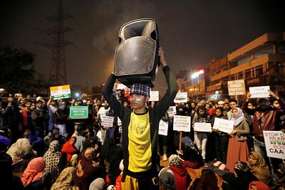 INDIA-CITIZENSHIP/PROTESTS