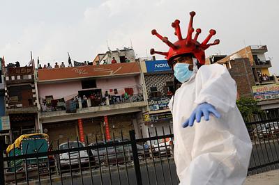 Spread of the coronavirus disease (COVID-19) in New Delhi