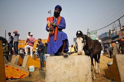 INDIA-FARMS/PROTESTS