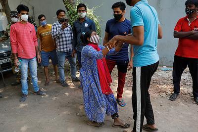 HEALTH-CORONAVIRUS/INDIA-OXYGEN