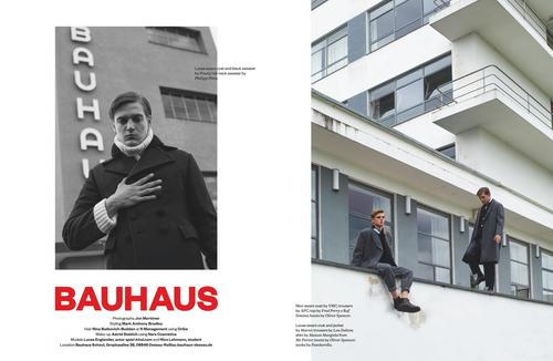 BAUHAUS - JOCKS & NERDS MAGAZINE / PHOTOGRAPHED BY JON MORTIMER